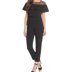 Adrianna Papell Black Jumpsuit